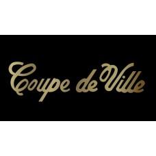 Cadillac Coupe de Ville License Plate