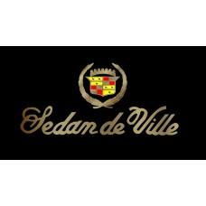 Cadillac Sedan de Ville Stainless Steel License Plate