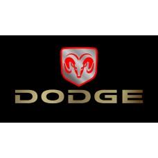 Dodge License Plate