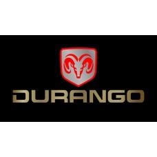 Dodge Durango License Plate