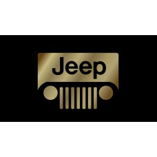 Jeep Grill Logo License Plate