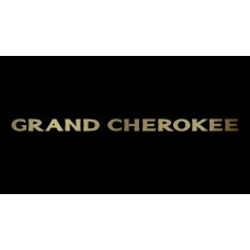Jeep Grand Cherokee License Plate