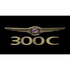 Chrysler 300C License Plate