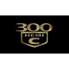 Chrysler 300C HEMI License Plate
