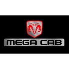 Dodge MegaCab License Plate