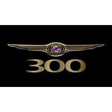 Chrysler 300 License Plate