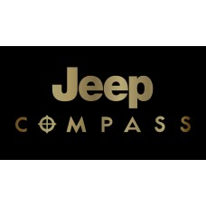 Jeep Compass License Plate