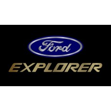 Ford Explorer License Plate