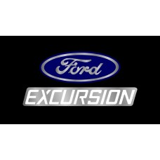 Ford Excursion License Plate