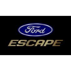Ford Escape License Plate