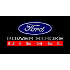 Ford 2005 Power Stroke Diesel License Plate
