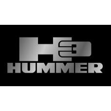 Hummer H3 License Plate