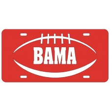 PIGSKIN BAMA - Red License Plate