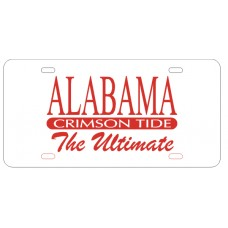 ALABAMA TIDE ULTIMATE - License Plate