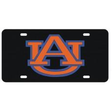 AU INTERLOCK BLACK - License Plate
