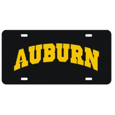 AUBURN ARCHED - License Plate