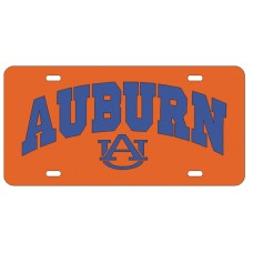 AUBURN ARCHED AU ORNAGE - License Plate