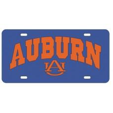 AUBURN ARCHED AU - License Plate