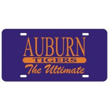AUBURN TIGERS THE ULTIMATE - License Plate