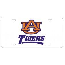 AU INTERLOCK TIGERS - License Plate
