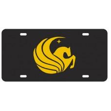 PEGASUS BLACK- License Plate
