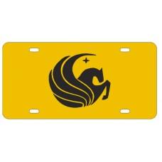 PEGASUS YELLOW - License Plate