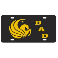 PEGASUS DAD SLANT - License Plate