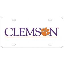 CLEMSON WORD MARK - License Plate