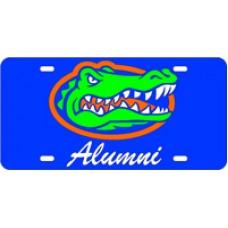 GATOR HEAD ALUMNI SCRIPT - Blue License Plate