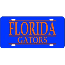 FLORIDA GATORS BAR BLUE BG - BAR
