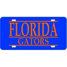 FLORIDA GATORS BAR BLUE BG - BAR