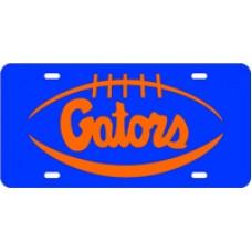PIGSKIN GATORS - Blue License Plate