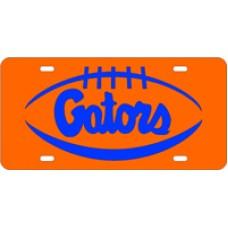 PIGSKIN GATORS - Orange License Plate