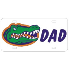 GATOR HEAD DAD - License Plate