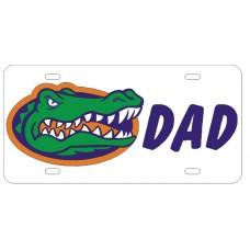 GATOR HEAD DAD - License Plate