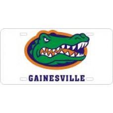 GATOR HEAD GAINESVILLE - License Plate
