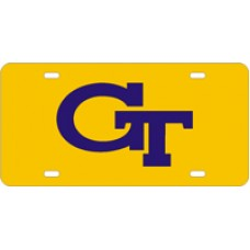 GT INTERLOCK - Yellow License Plate