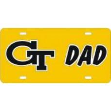GT INTERLOCK DAD - License Plate