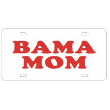BAMA MOM - License Plate