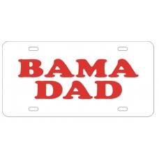 BAMA DAD - License Plate