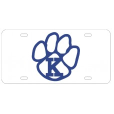 K PAW - License Plate