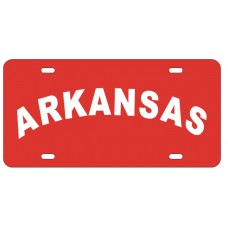 ARKANSAS ARCHED - License Plate