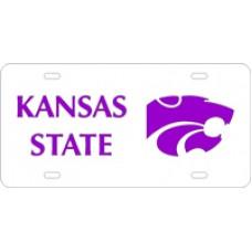 KANSAS STATE POWERCAT - License Plate