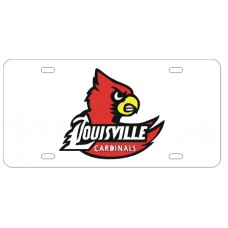 CADINAL WING LOGO LOUSIVILLE - License Plate