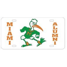 MIAMI IBIS ALUMNI - License Plate