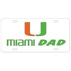MIAMI DAD - License Plate