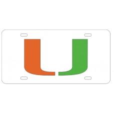 MIAMI U - License Plate