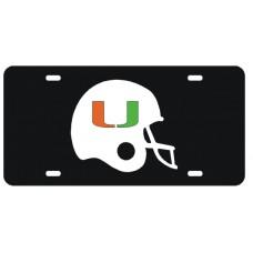 U HELMET - License Plate