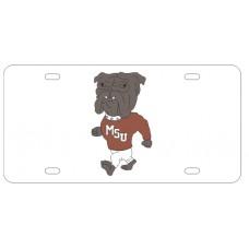 BULLDOG - License Plate NCAA License Plates