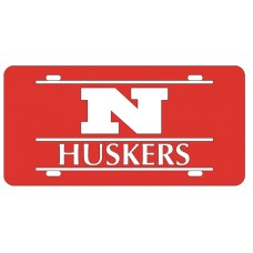 N HUSKERS BAR RED - BAR